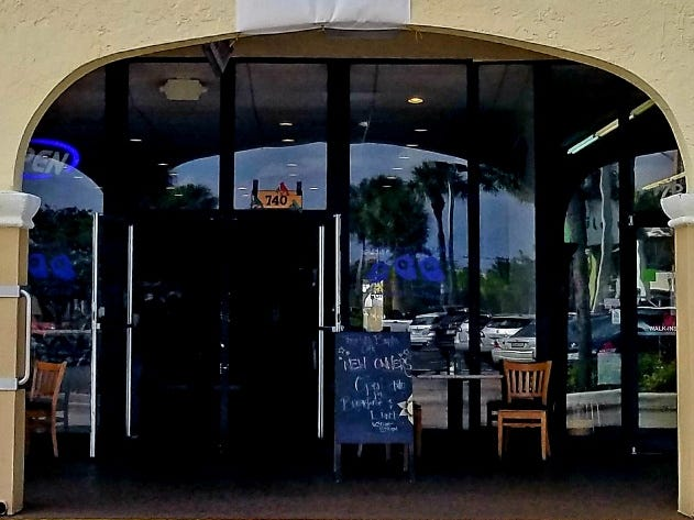 Three Little Birds Cafe is located at 740 S.W. U.S. 1 in Stuart.