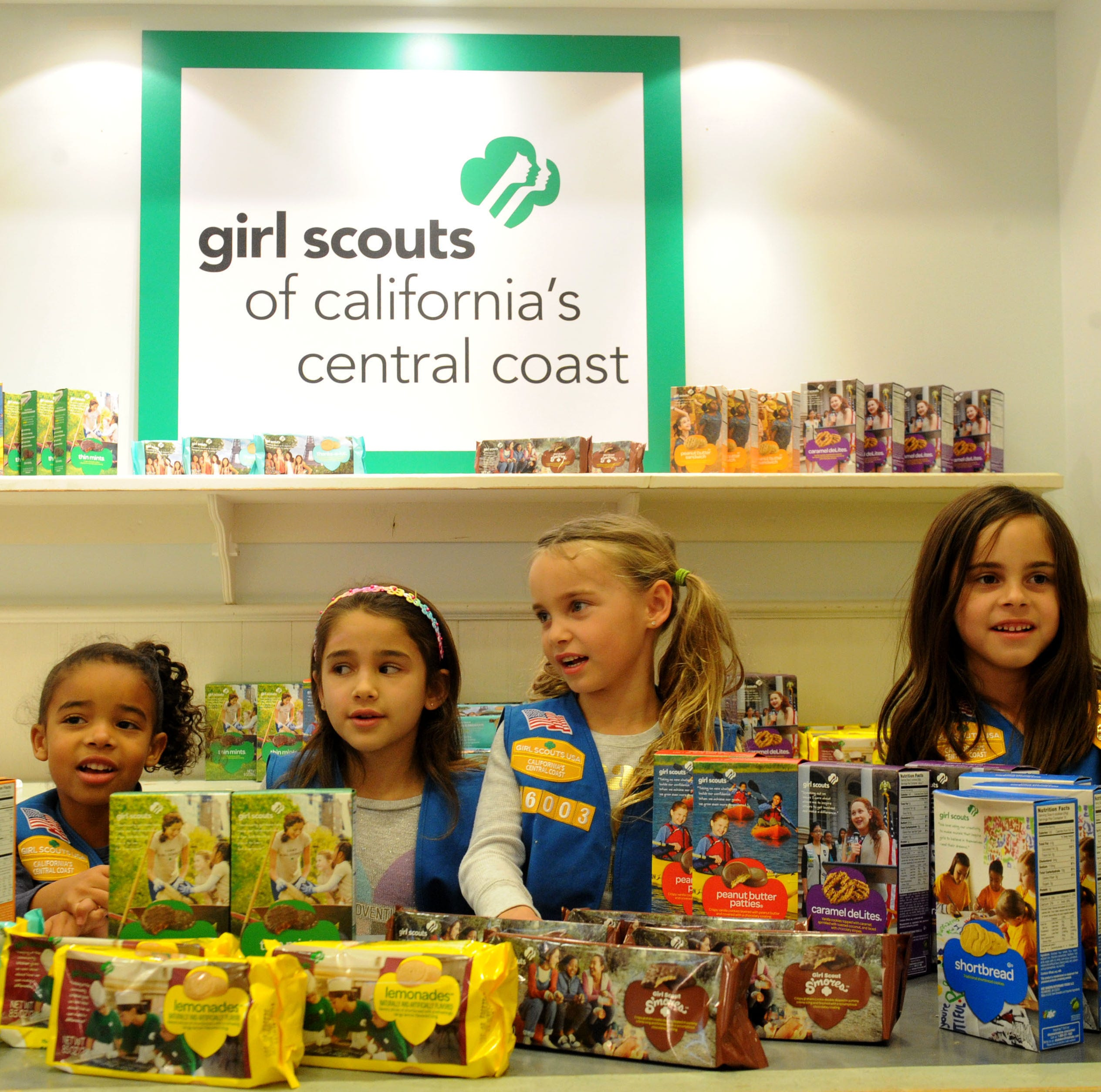 Girl Scouts open cookie store at The Oaks mall