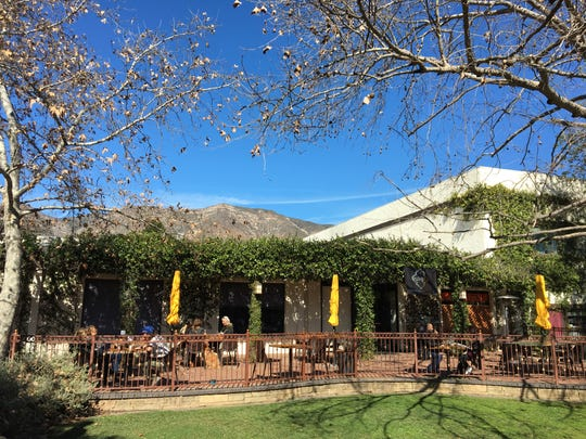 An outdoor patio is among the seating options at Sage Mindful Meals & Elixirs in Ojai.