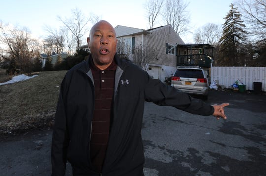 Micheal Miller, Hillcrest CUPON chairman on Northbrook Rd. In Hillcrest where CUPON opposed a building project Feb. 8, 2019.