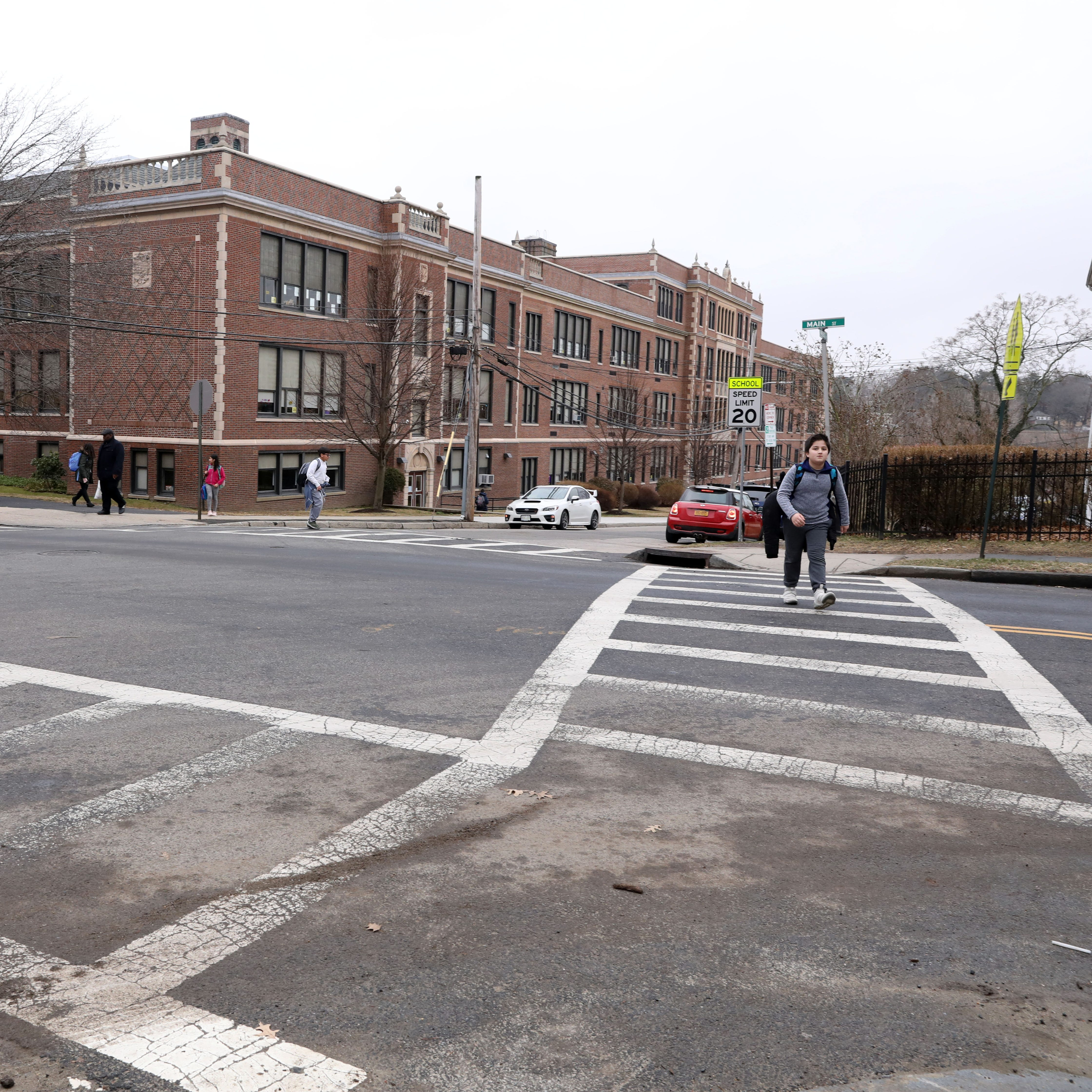 Sixth-grader struck by car at unguarded school crosswalk