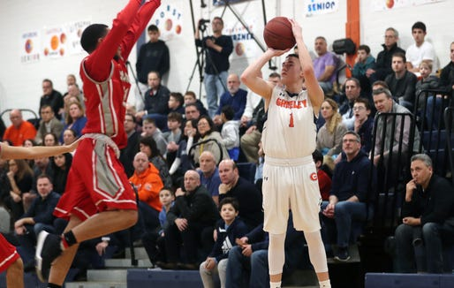 Horace Greeley defeated Somers 71-47 in boys basketball action at Horace Greeley High School Feb. 7,  2019.
