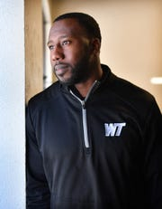 Markelle Martin, a 2008 Rider grad, was promoted to defensive coordinator by Burkburnett coach Jason Meng.