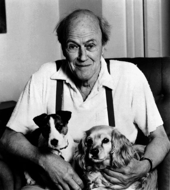 Roald Dahl, one of the world's most popular children's authors, lost his daughter Olivia to the measles.