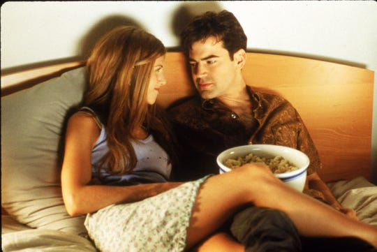 """Jennifer Aniston and Ron Livingston in """"Office Space."""""""