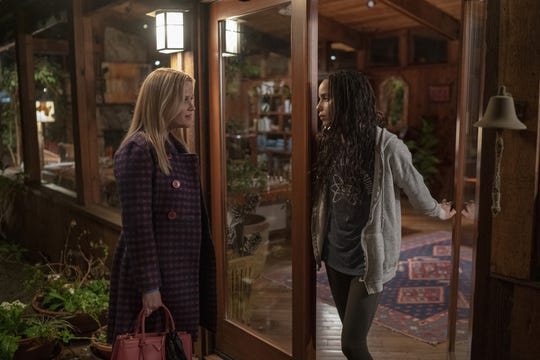 """Reese Witherspoon and Zoe Kravitz in """"Big Little Lies."""""""