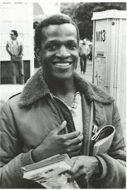 Marsha P. Johnson was born Malcolm Michaels in Elizabeth, N.J., in 1945.