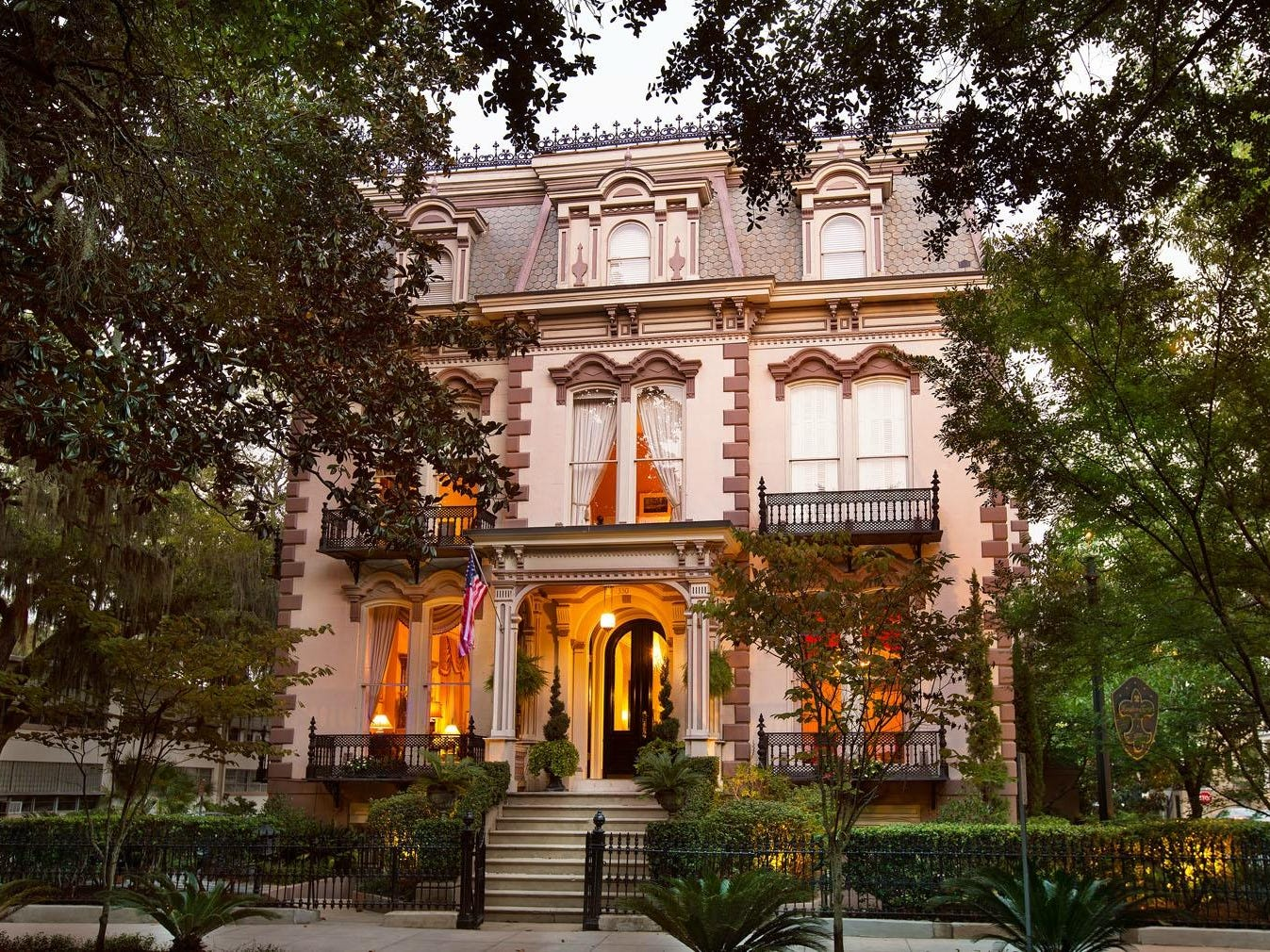 No. 22: Hamilton-Turner Inn in Savannah, Georgia.