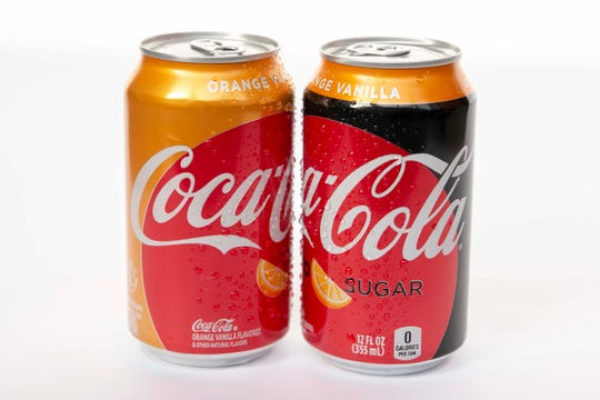 Coca-Cola is introducing Orange Vanilla Coke andOrange Vanilla Coke Zero Sugar.