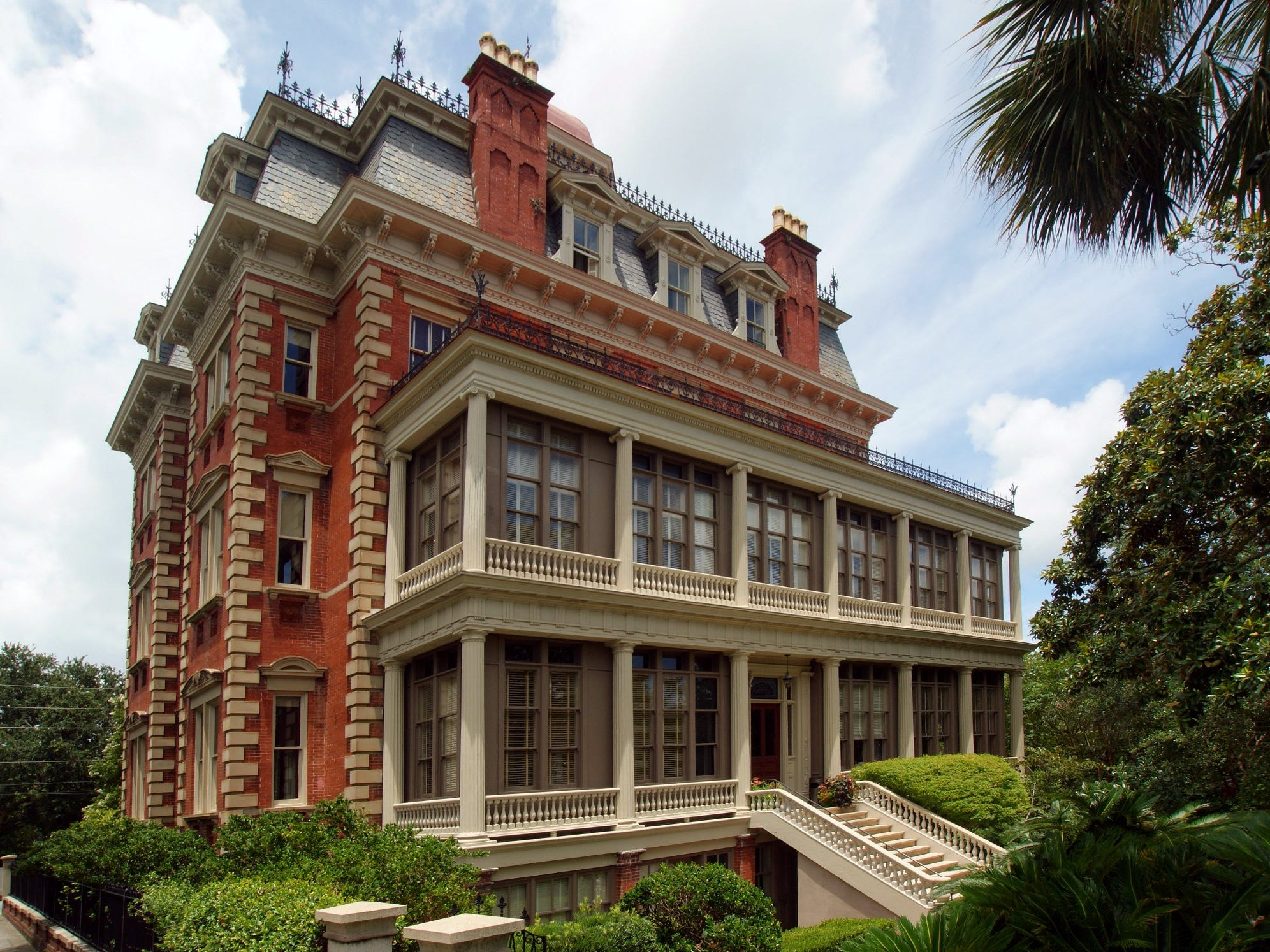 No. 25: Wentworth Mansion in Charleston, South Carolina.