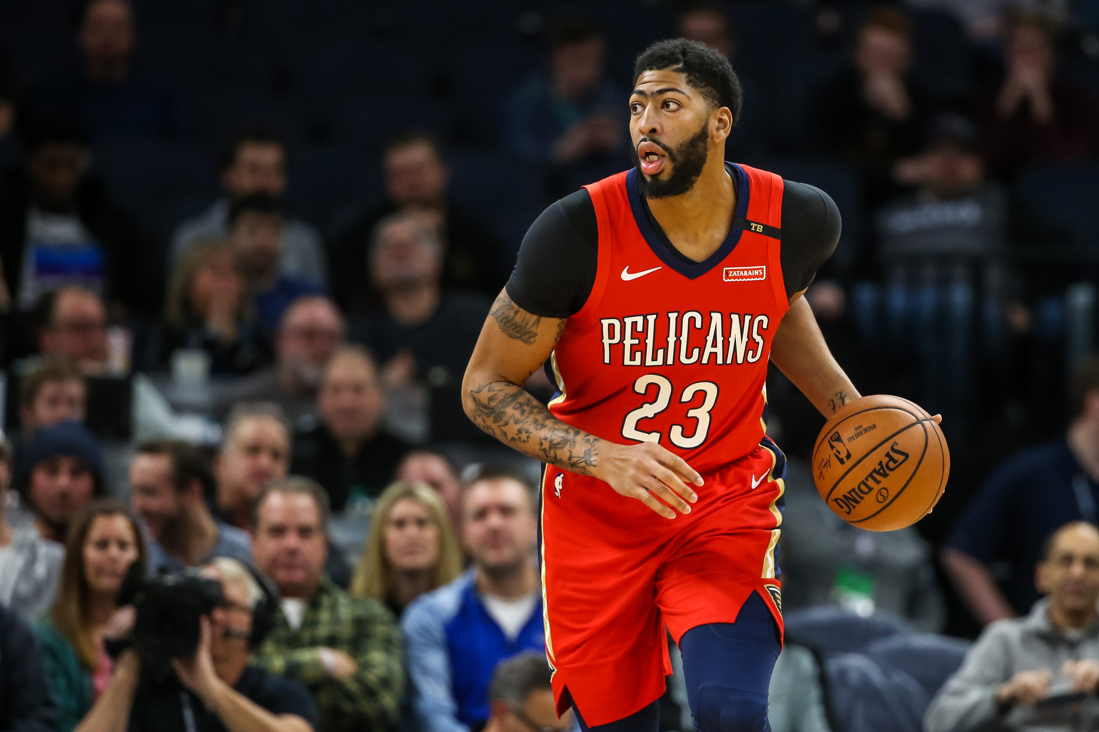 Anthony Davis Returns Pelicans Have No Choice But To Play Star