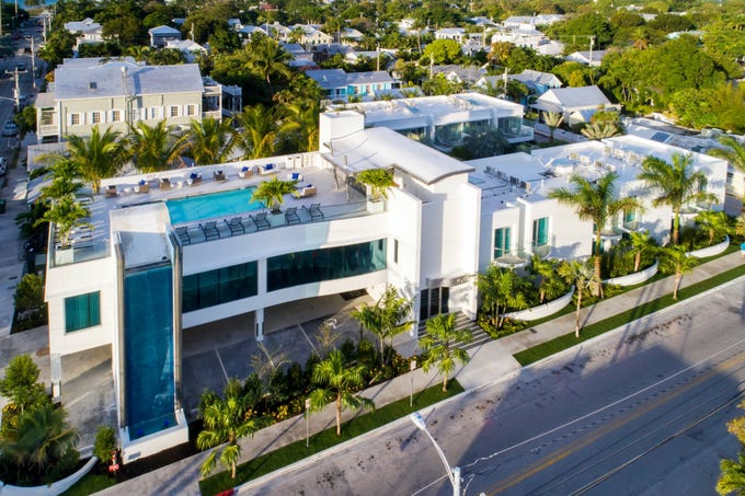 TripAdvisor has named the winners of its 2019 Travelers' Choice awards for hotels, including the top 25 romantic hotels in the U.S. and the world. At No. 1 on the list of U.S. hotels is the H2O Suites Hotel in Key West, Florida.
