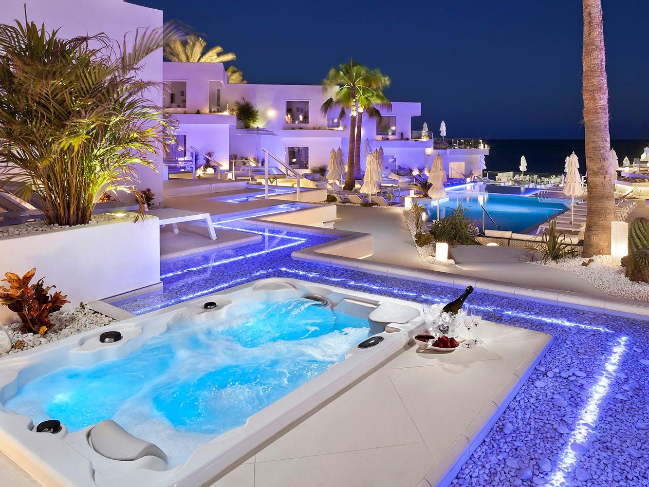 At No. 1 on the list of the most romantic hotels in the world is Lani's Suites Deluxe in Puerto del Carmen, Spain.