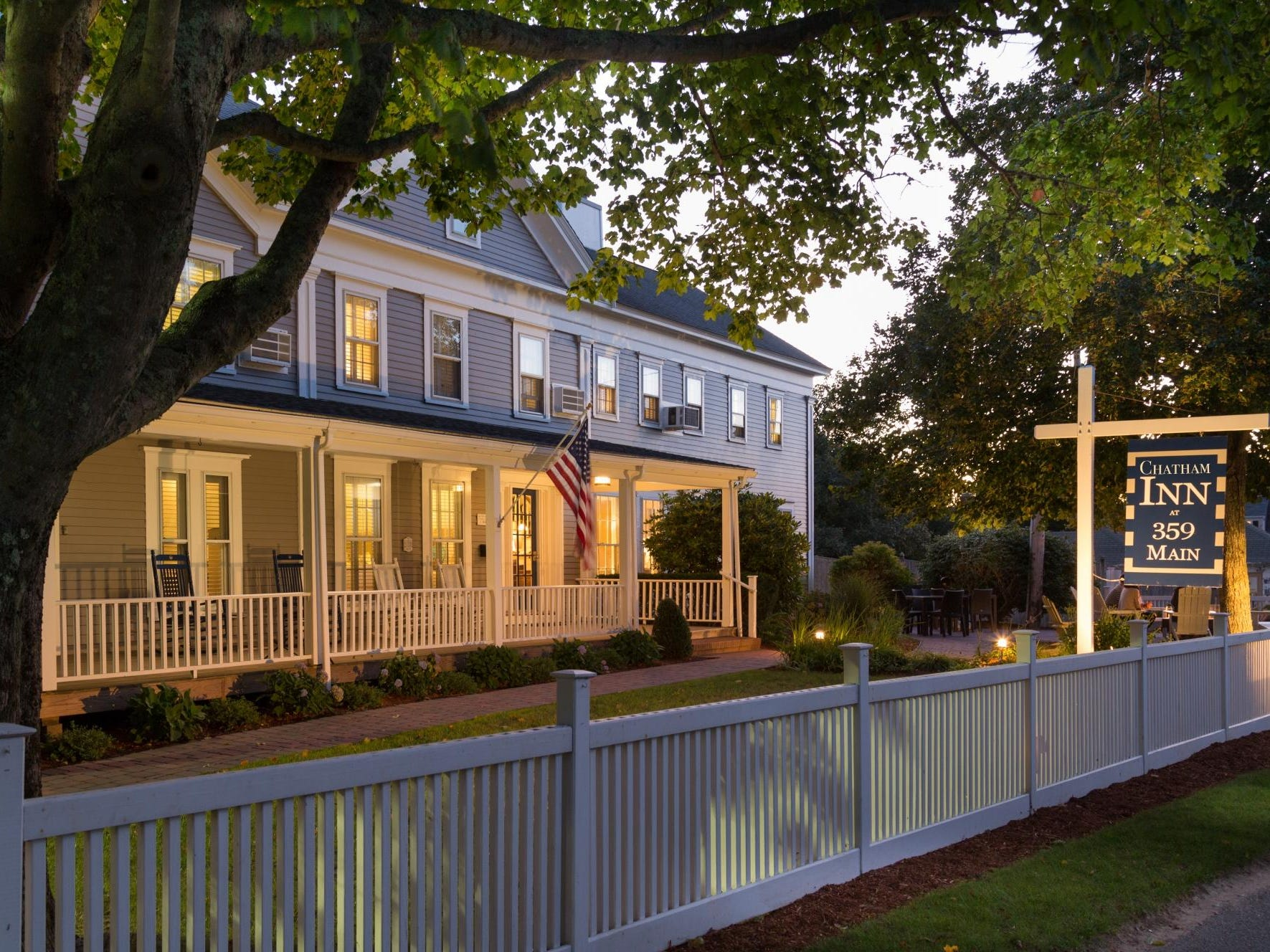No. 12: Chatham Inn in Chatham, Massachusetts.