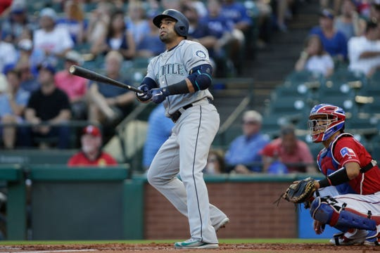 DH Nelson Cruz slugged 37 home runs last season with the Mariners.