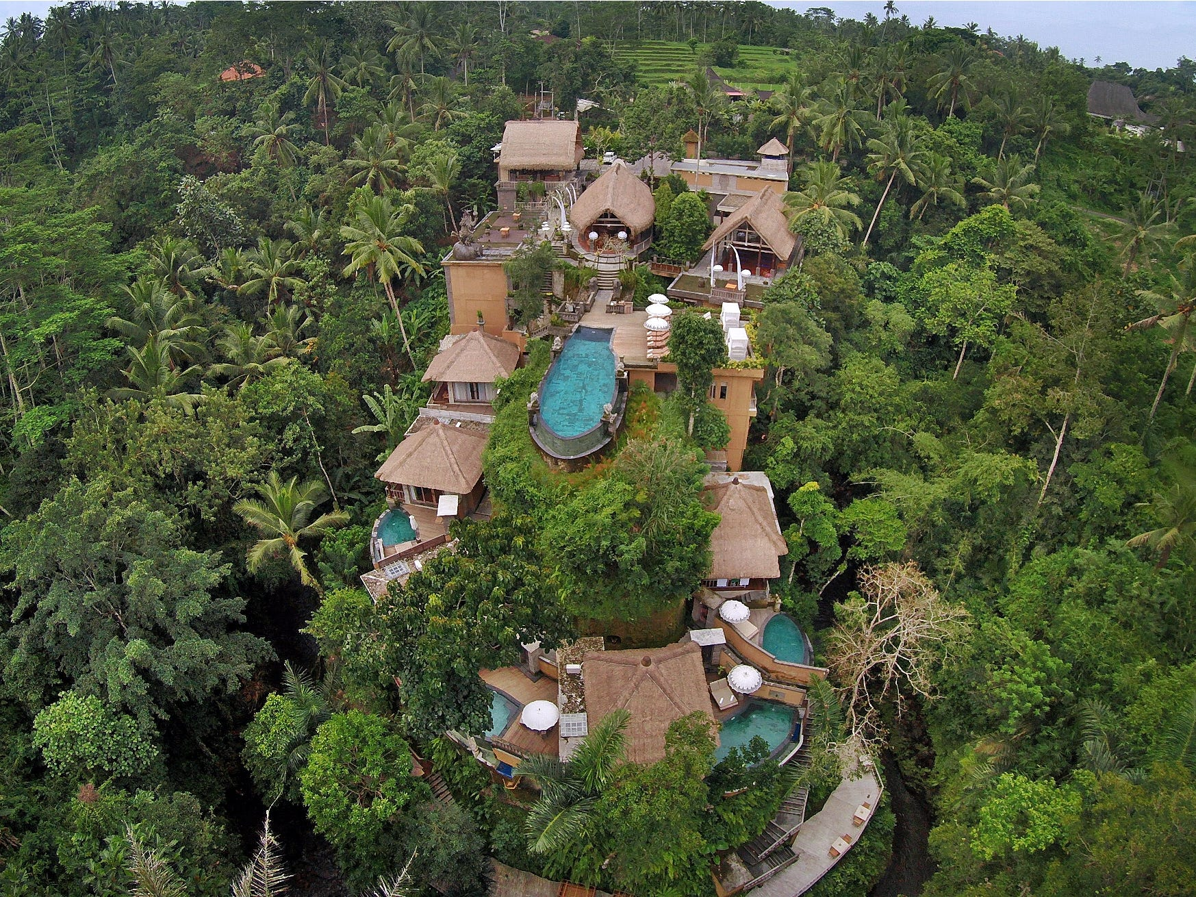 No. 5: The Kayon Resort in Ubud, Indonesia.