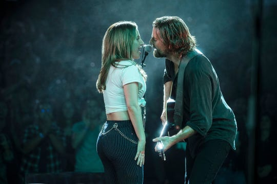 """A Star Is Born,"" starring Lady Gaga and Bradley Cooper, is out on DVD Tuesday."