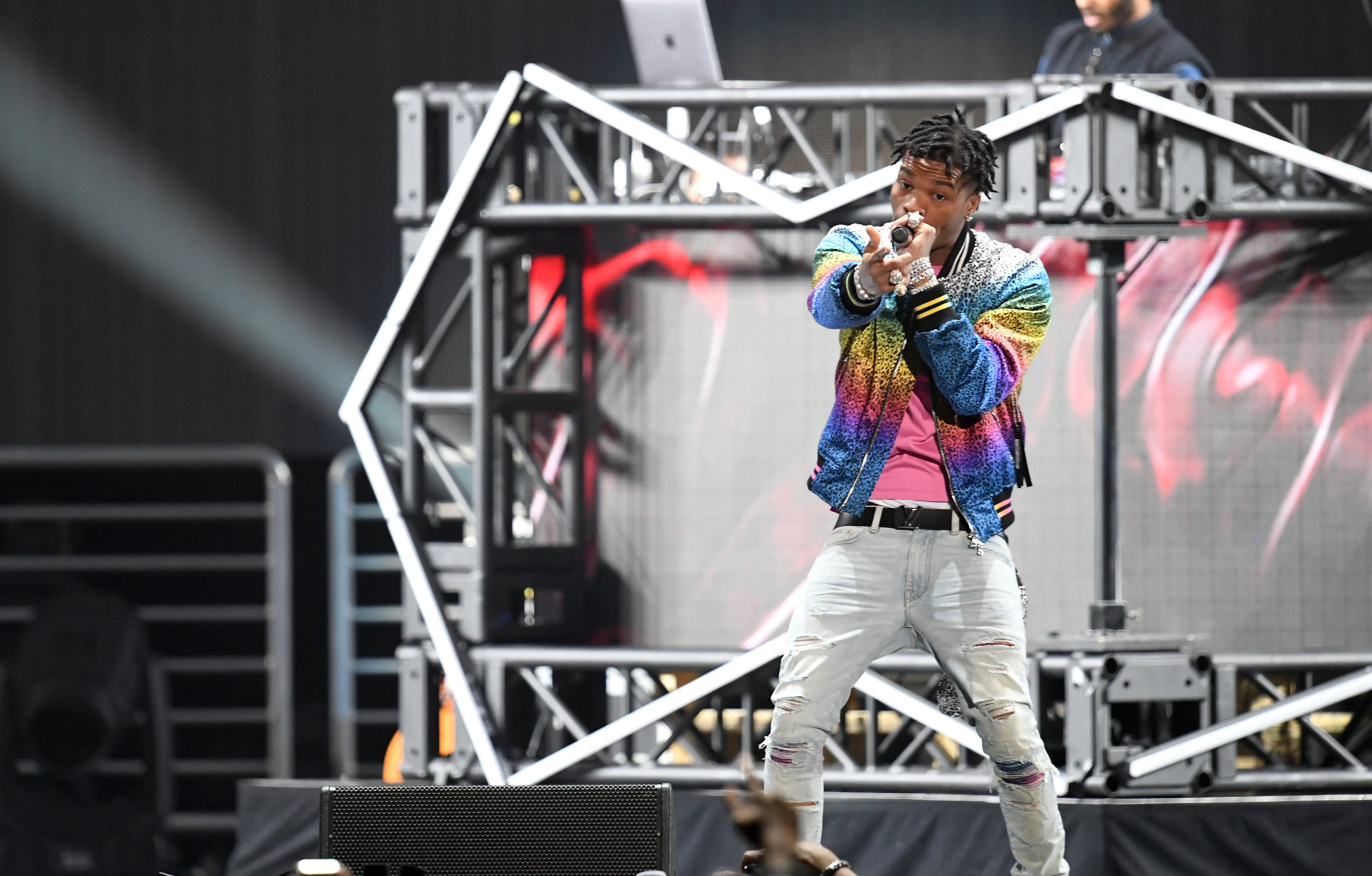 Rapper Lil Baby arrested in Atlanta for reckless driving and eluding police