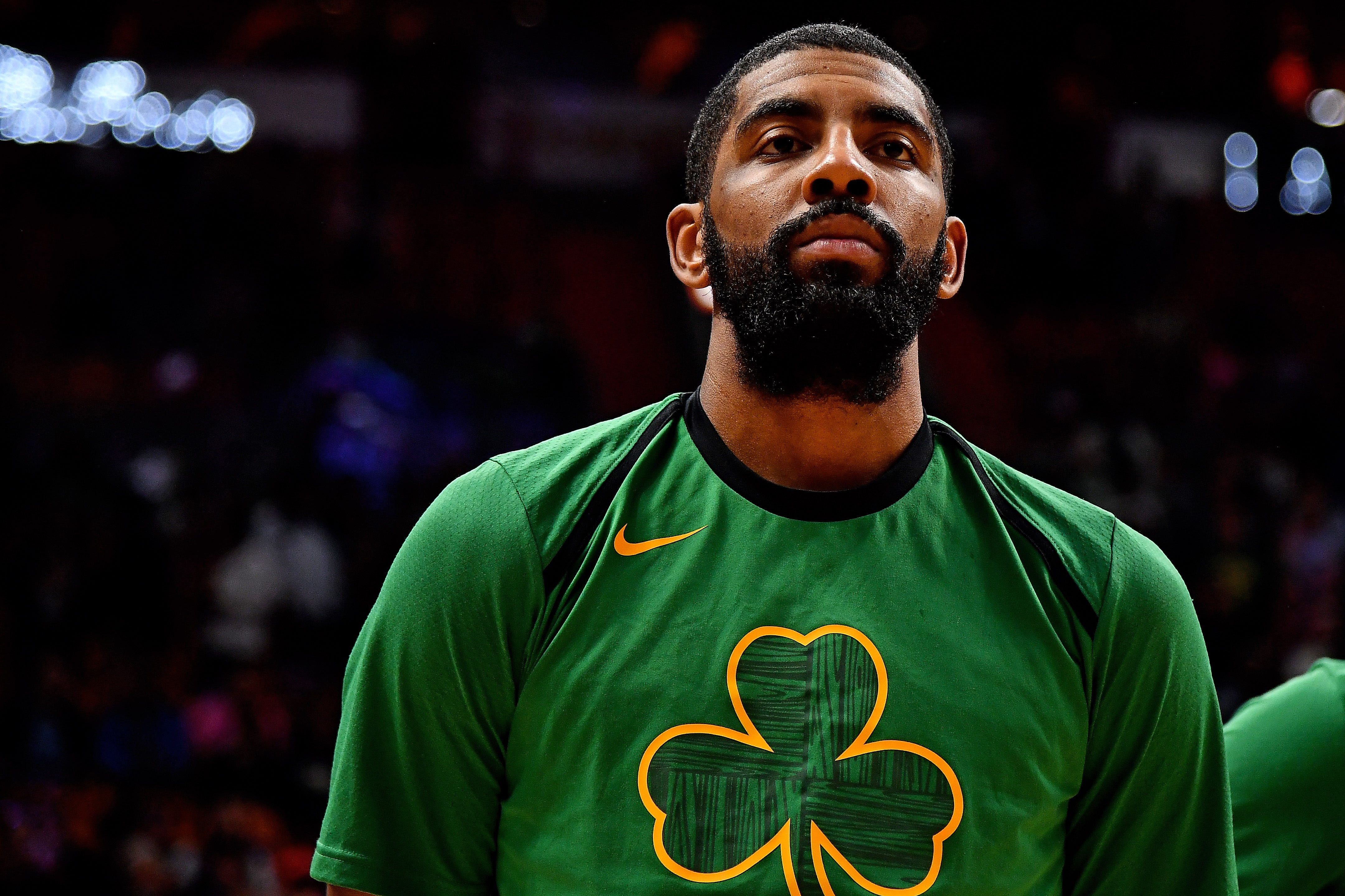 Danny Ainge: Celtics, Kyrie Irving are 'engaged' and will 'get married on July 1'