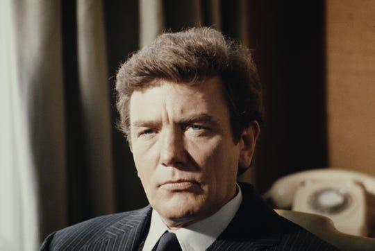 English actor Albert Finney, 1985.