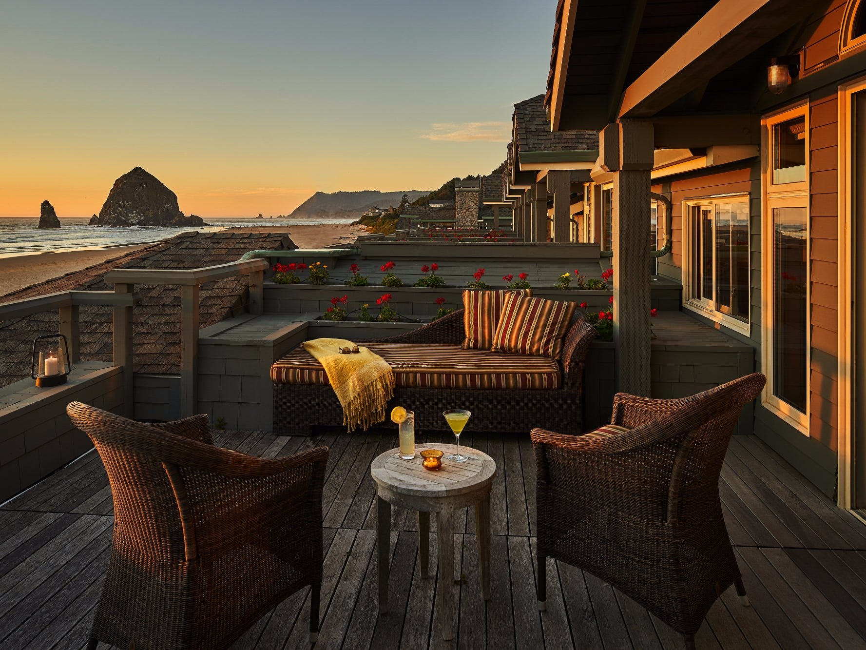 No. 16: Stephanie Inn in Cannon Beach, Oregon.