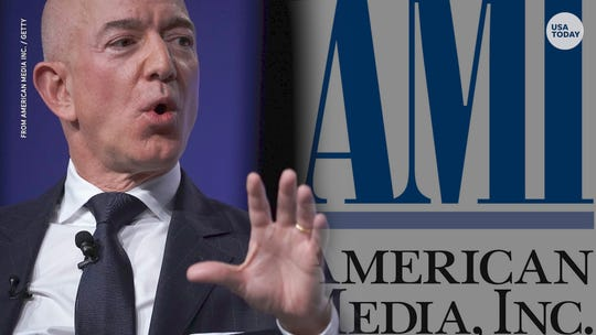 Could Amazon's Bezos wreck AMI, owner of National Enquirer, with blackmail charges?