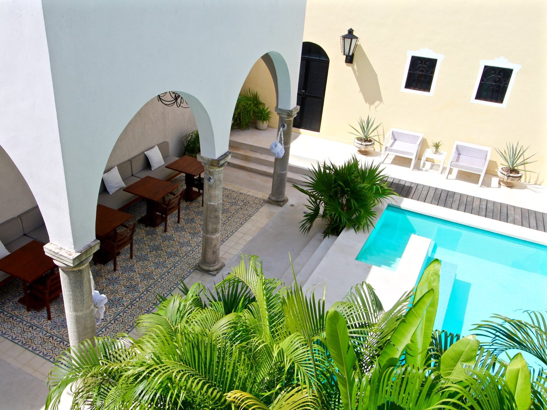 No. 25: The Diplomat Boutique Hotel in Merida, Mexico.