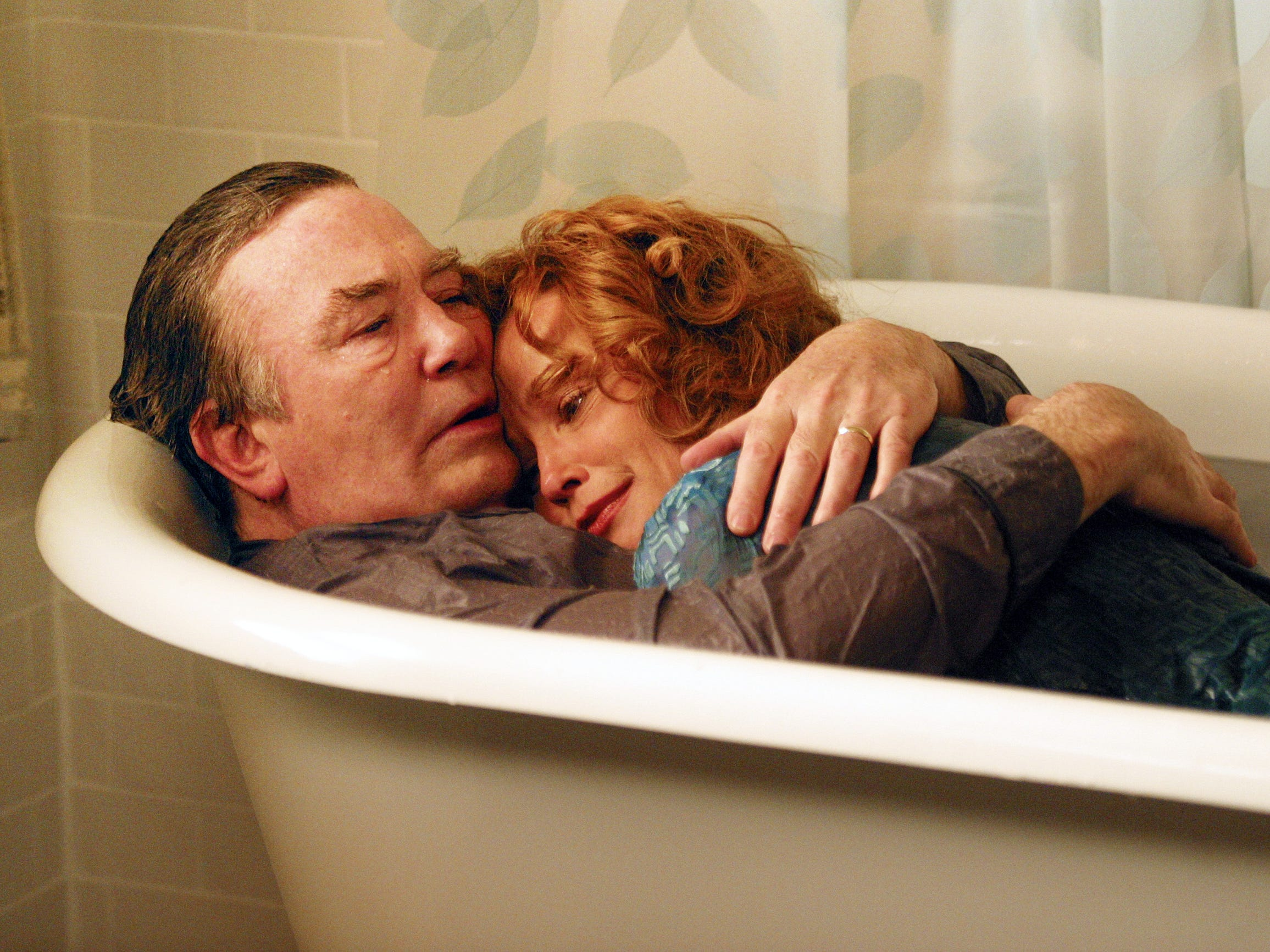 Albert Finney and Jessica Lange in a scene from the motion picture Big Fish.
