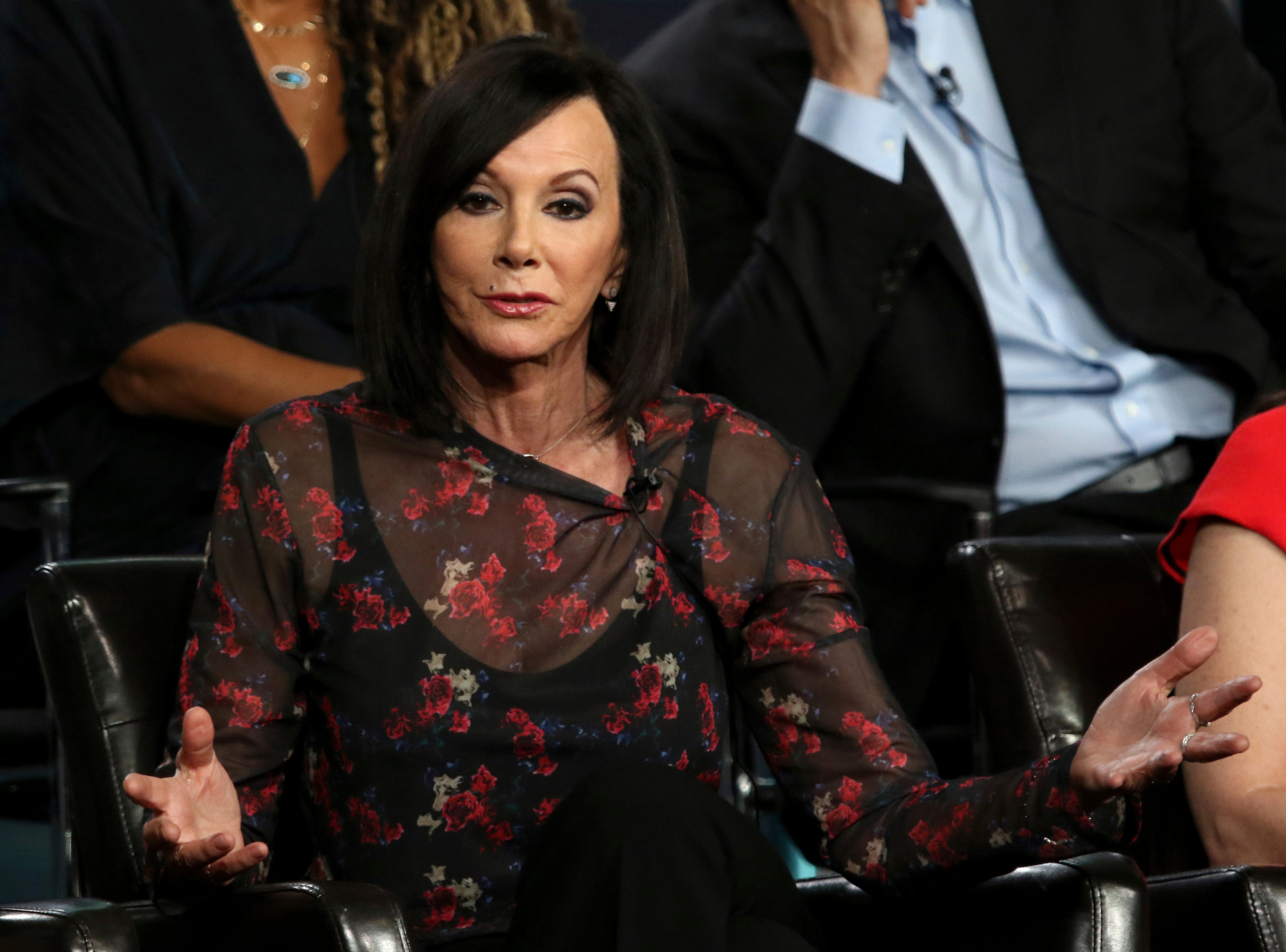 """Co-creator and executive producer Marcia Clark participates in the """"The Fix"""" panel for ABC."""
