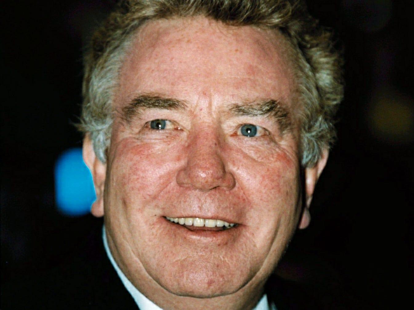 Albert Finney,  Feb. 25, 2001.