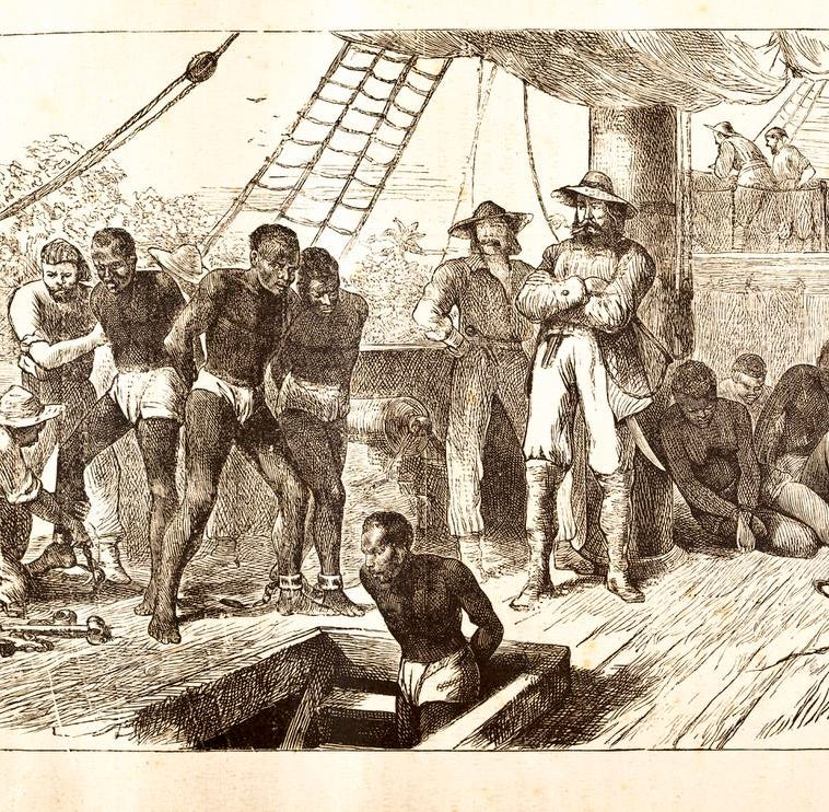 1619: 400 years ago, a ship arrived in Virginia, bearing human cargo
