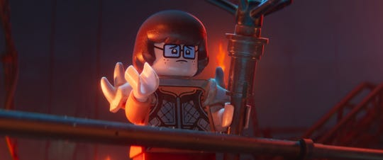 "Velma from ""Scooby-Doo"" is unmasked in ""The Lego Movie 2: The Second Part."""