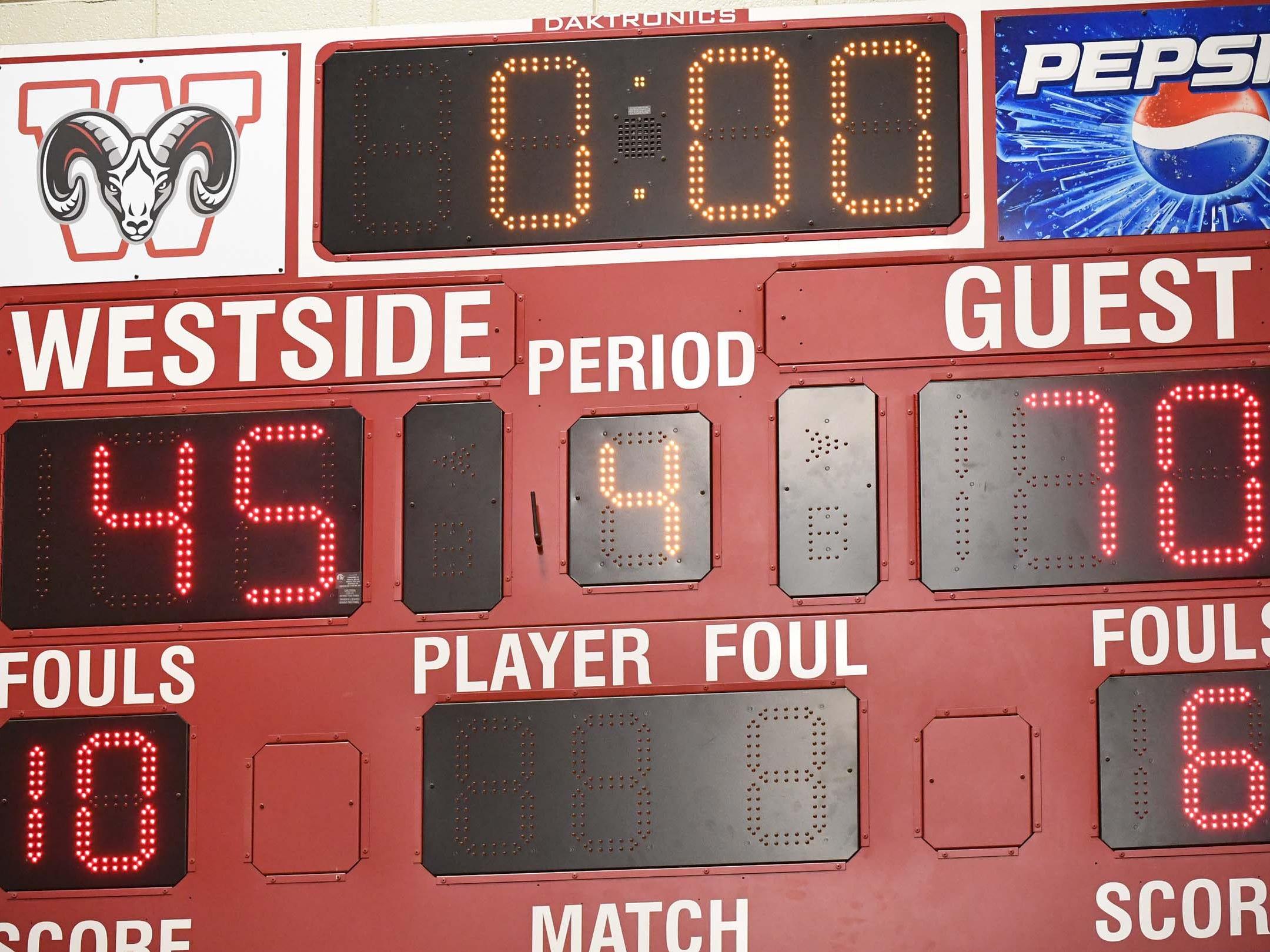 TL Hanna High boys beat Westside High School 70-45 at Westside Friday.