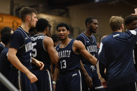 Monmouth defeated Fairfield on Saturday to maintain its hold on first place in the MAAC.