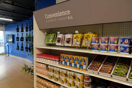 The interior of the Standard Cognition cashier-less store in San Francisco. Get ready to say good riddance to the checkout line. A year after Amazon opened its first cashier-less store, startups and retailers are racing to get similar technology in other stores throughout the world, letting shoppers buy groceries without waiting in line.