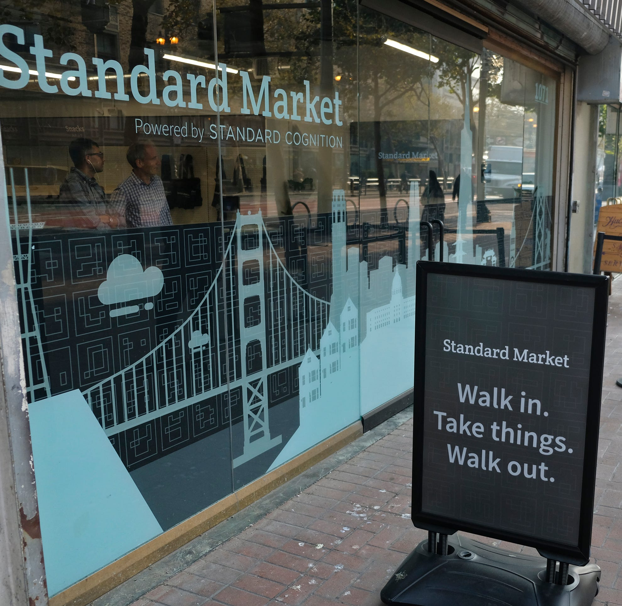 Checkout lines disappear as stores embrace technology