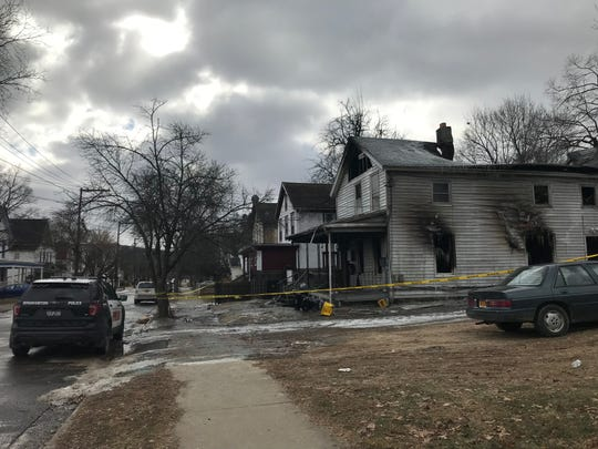 Binghamton Police are investigating a fire that happened early Saturday on Walnut Street.