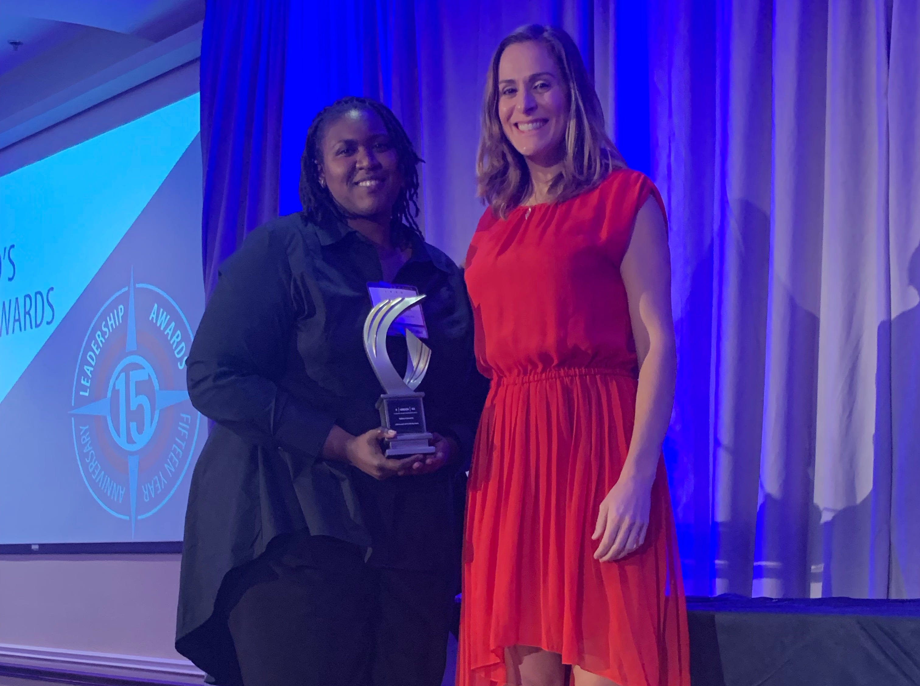 4 under 40 recipient Valeta Cameron, Staff Attorney, Brevard County Legal Aid, Inc.  Sponsored by FLORIDA TODAY.  Presented by Isadora Rangel, Public Affairs and Engagement Editor, Florida Today