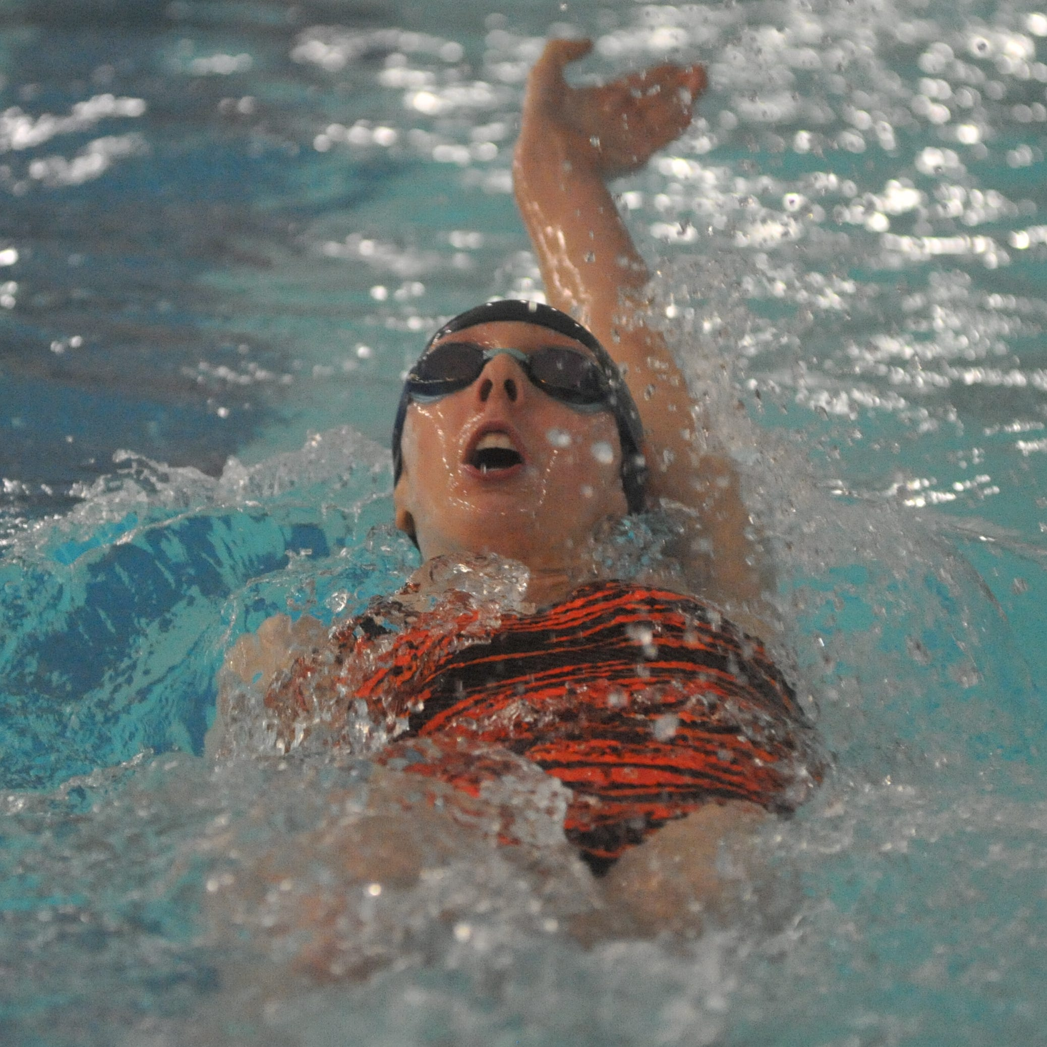 In record pursuit: Freshman big part of Galion swim success