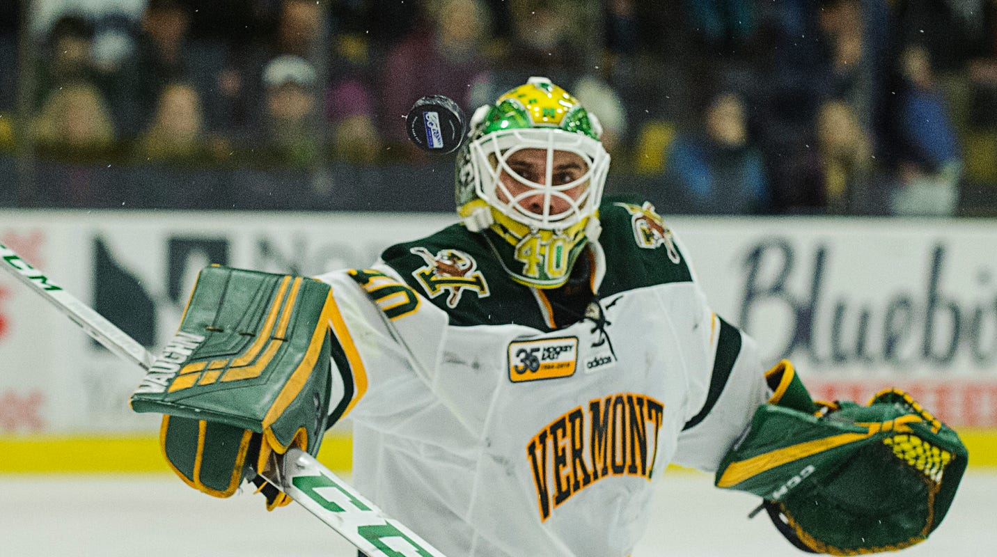 UVM men's hockey: Lekkas, Catamounts blank St. Lawrence
