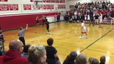 The final 20 seconds of Rice's thrilling comeback win against CVU and buzzer-beating 3-pointer by Michel Ndayishimiye.