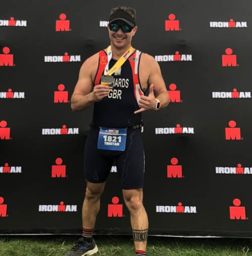Local triathlete selected as top national finalist in cover contest