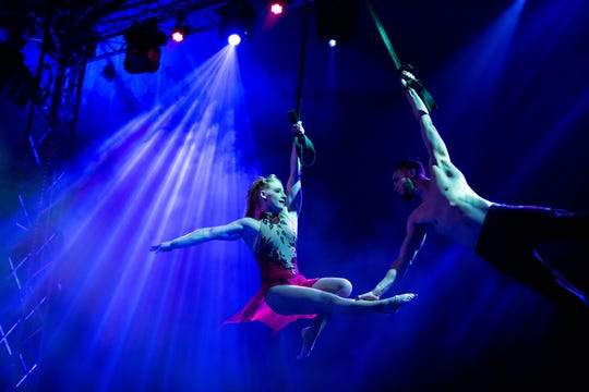 Cirque Italia features vivid and dramatic European-style performances using a 35,000 gallon water stage under a customized traveling tent. The circus will perform at the Richard M. Borchard Regional Fairgrounds in Robstown Feb. 14-17.