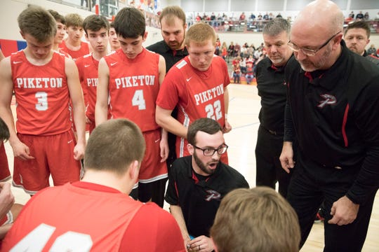 Evan Legg announced his resignation on Tuesday as Piketon basketball went 45-29 during his three years as head coach.