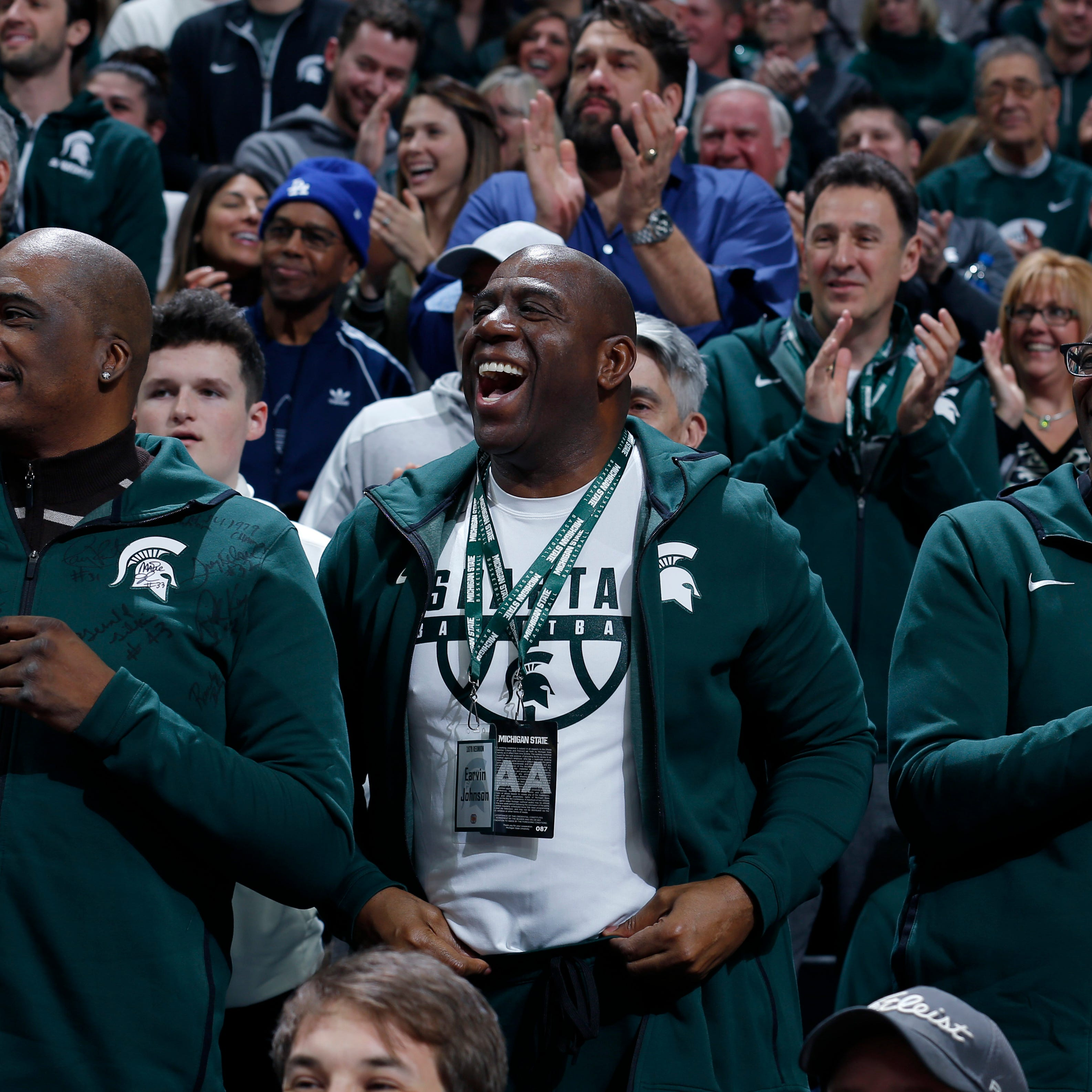 Michigan State basketball gets back to basics with Magic Johnson in crowd