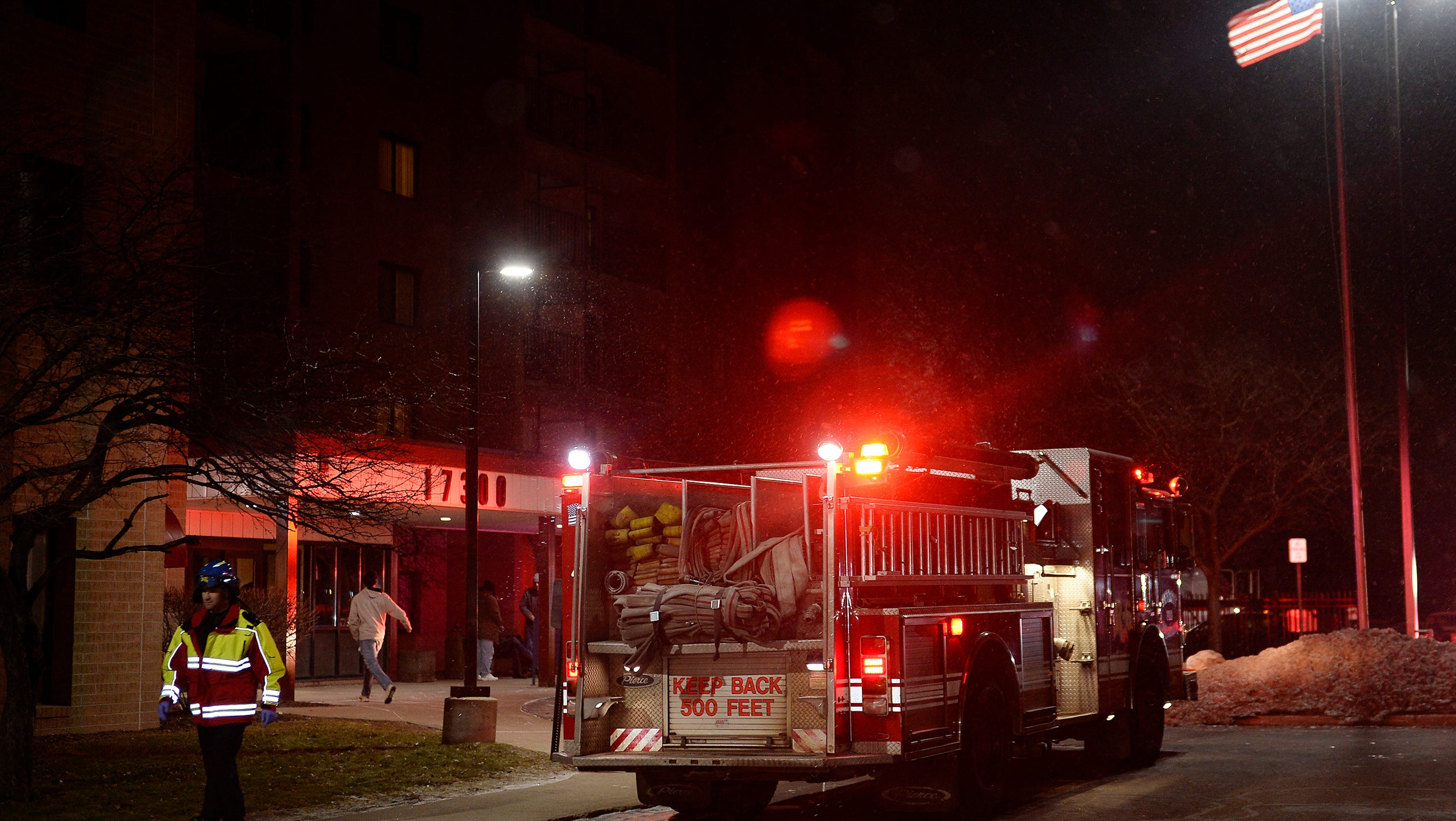 Two Sent To Hospital After West Side Blaze In Detroit