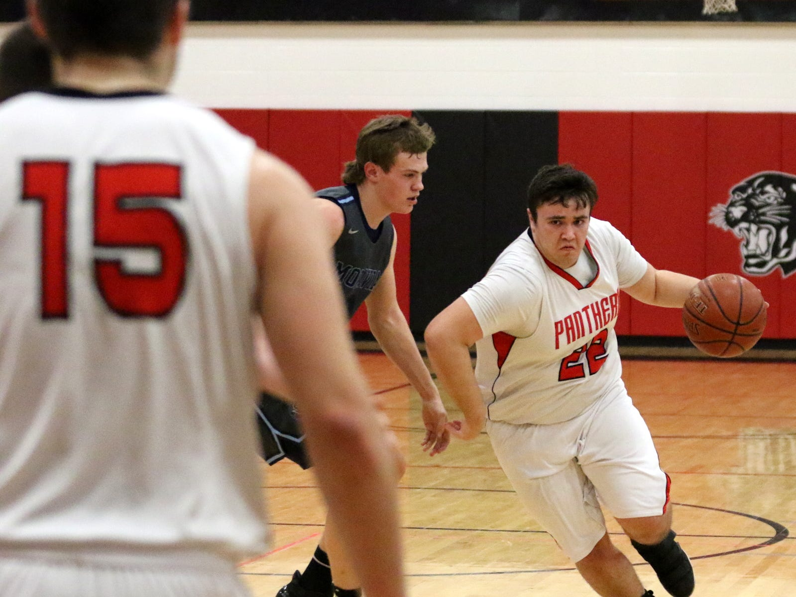 Spencer-Van Etten was a 68-63 winner over Moravia in boys basketball Feb. 8, 2019 at Spencer-Van Etten High School.
