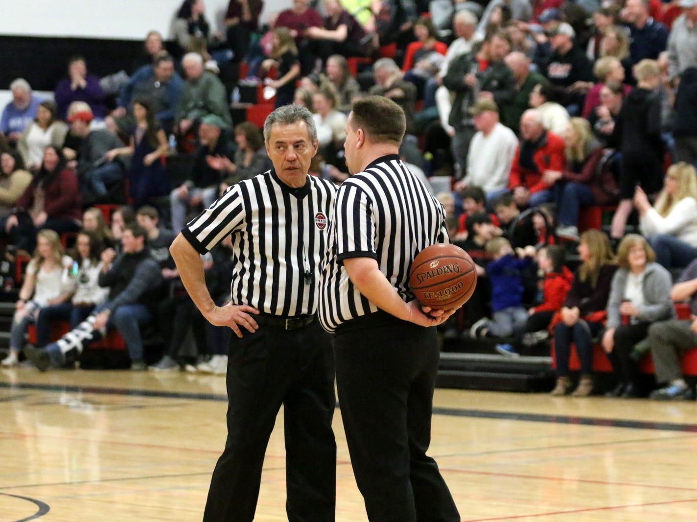 Spencer-Van Etten was a 68-63 winner over Moravia in boys basketball Feb. 8, 2019 at Spencer-Van Etten High School.