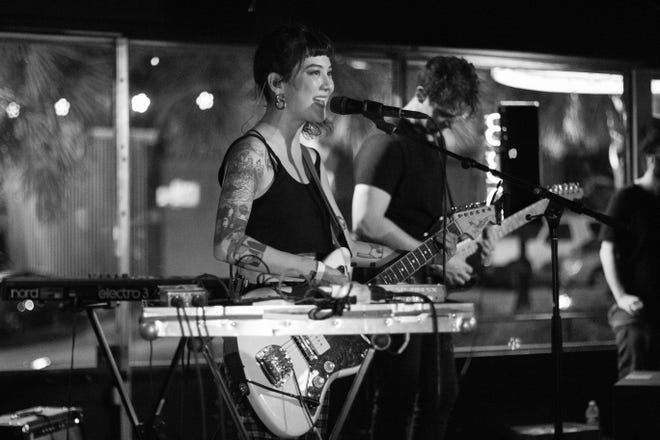 Michelle Zauner with her project, Japanese Breakfast, playing at The Wilbury.
