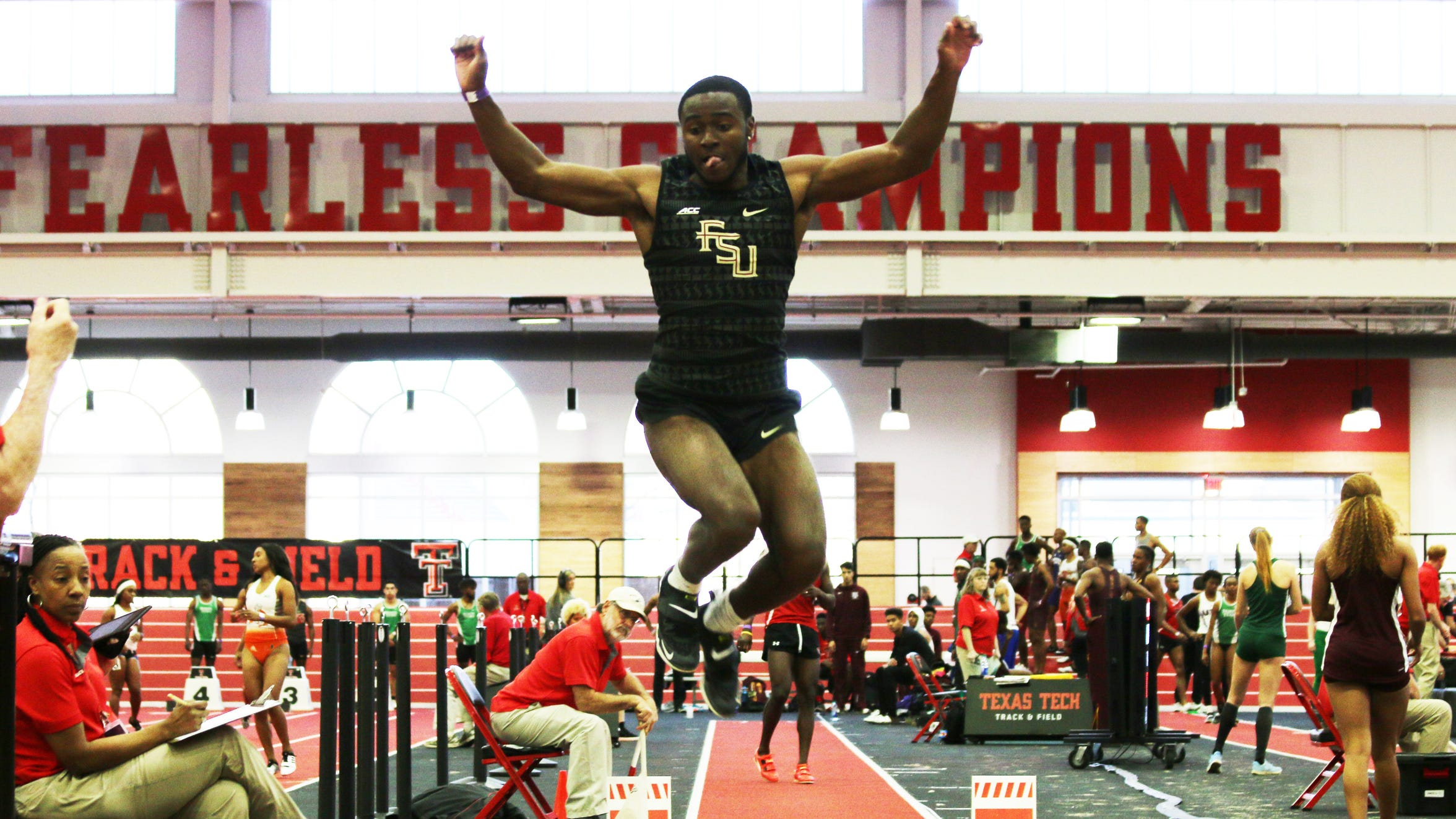 Armani Wallace has the fourth-best jump in the NCAA and ranks amongst the top-10 in the world for the calendar year.